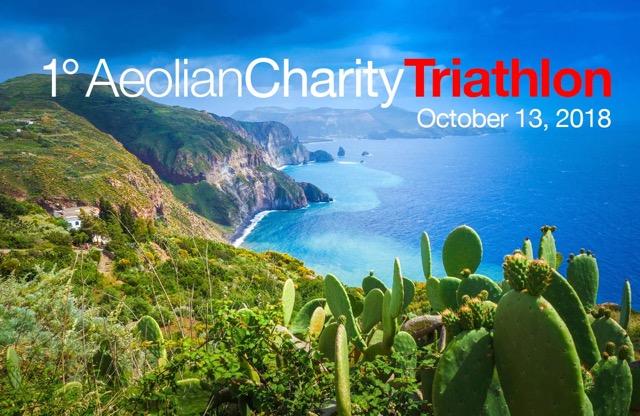 Nasce l'Aeolian Charity Triathlon: il 13 ottobre 2018 nella splendida cornice di Lipari la prima edizione.