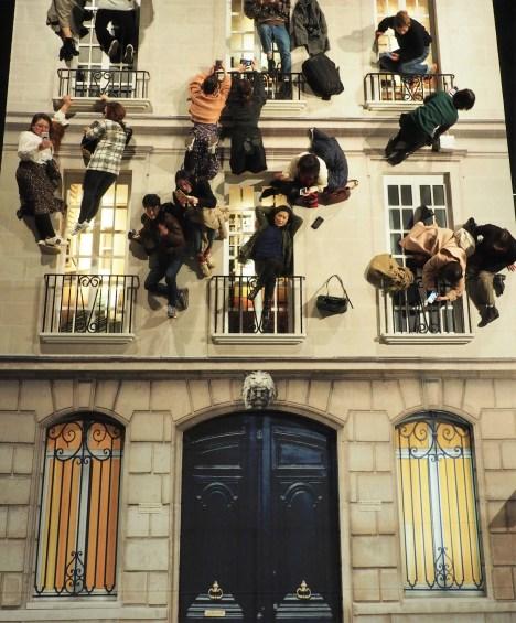 Building, Leandro Erlich - Façade Haussmannienne