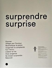 Qu'est-ce que surprendre ?