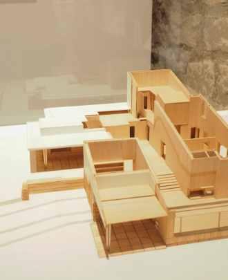 Alvar Aalto - Maquette d'habitation
