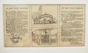 Georges-Henri Pingusson - Cahier des charges de l'église de Goussainville