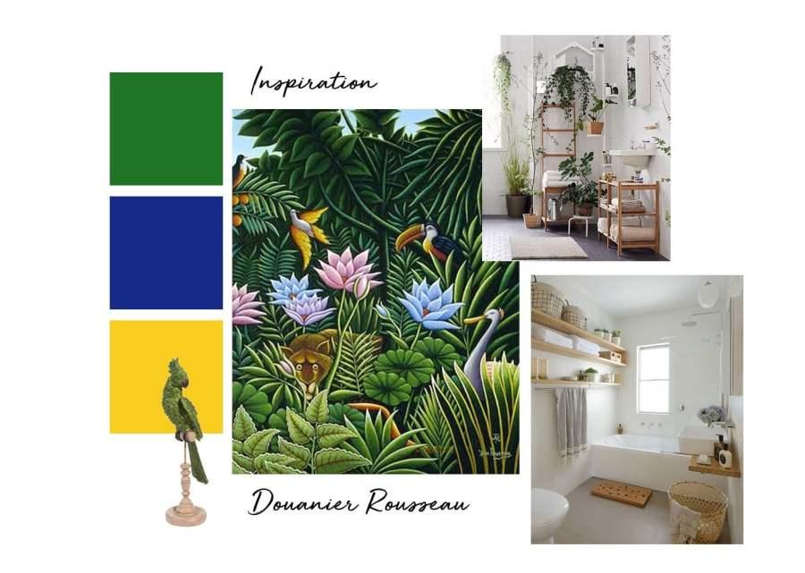 Planche d'inspiration : Douanier Rousseau