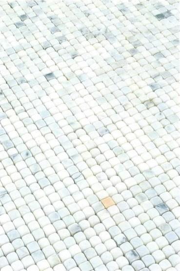 revêtement de sol de la salle des Nénuphars de Claude Monet