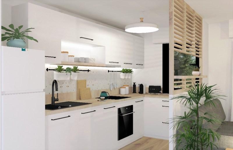 Une cuisine minimaliste