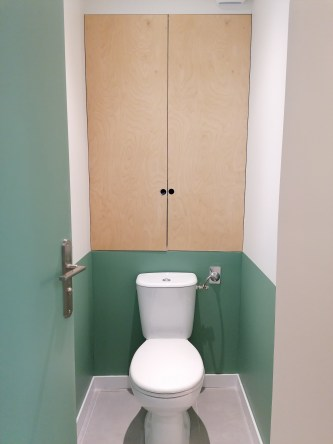 Des toilettes plus agréable