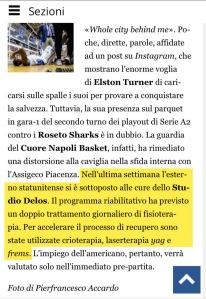 Elston Turner alle cure dello Studio Delos