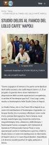 www.napolic5.it : Studio Delos al fianco del Lollo Caffé Napoli calcio