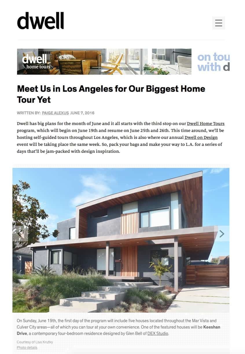 Dwell Los Angeles Home Tour