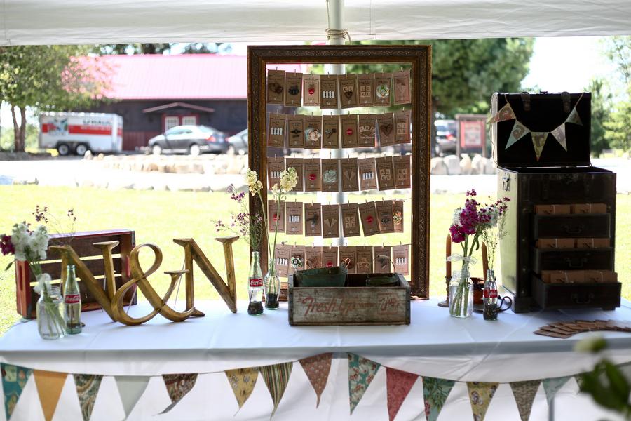 Vintage Inspired Homespun DIY Wedding