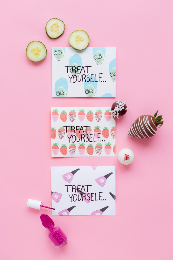Treat Yourself Mother S Day Printables Sweets Studio Diy