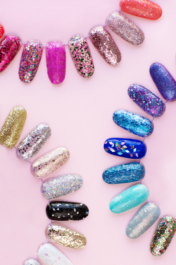 12 Glitter Nail Polish Candy Lover Fashion Uv Gel Ml Soak Off