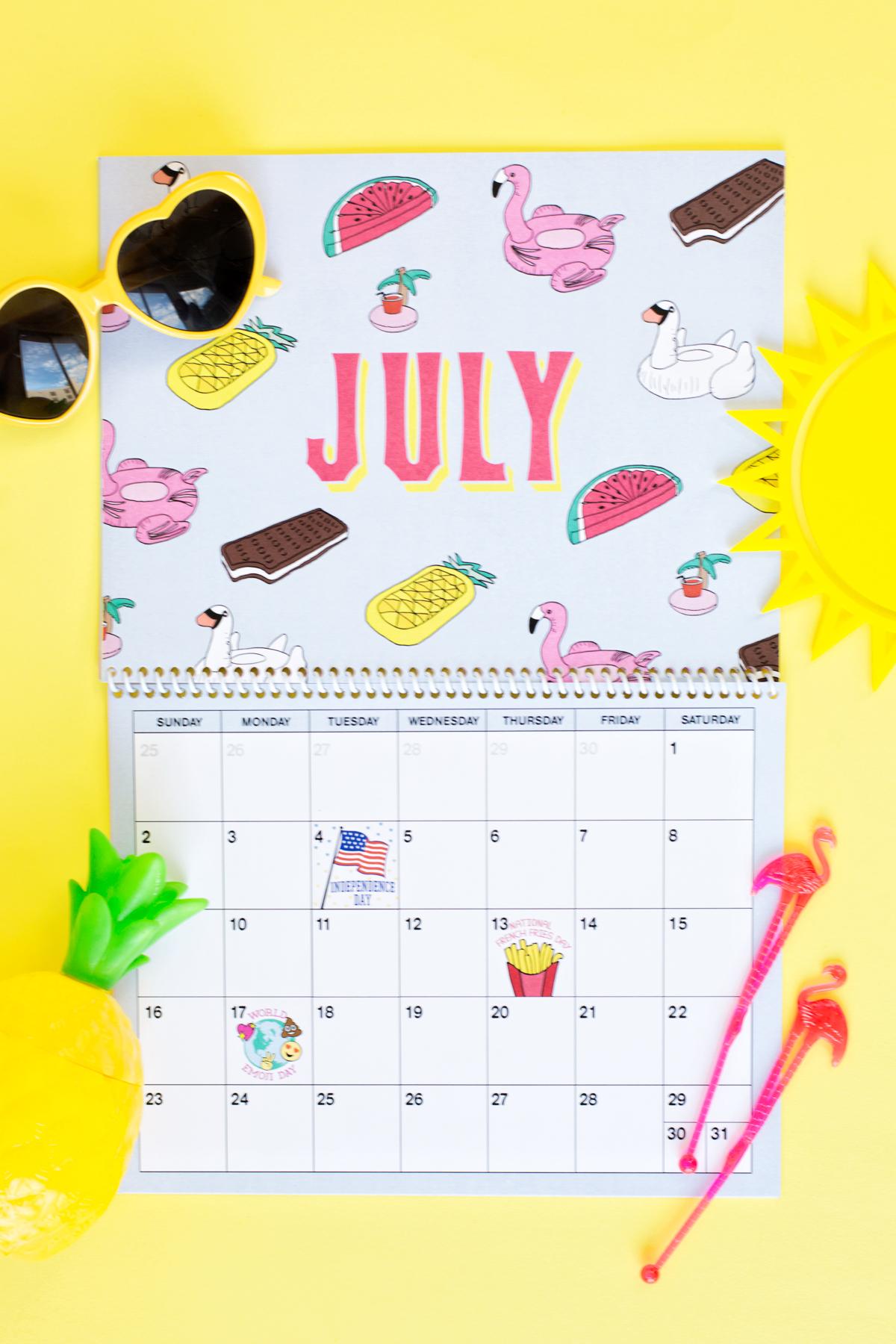 Free Printable Wall Calendar