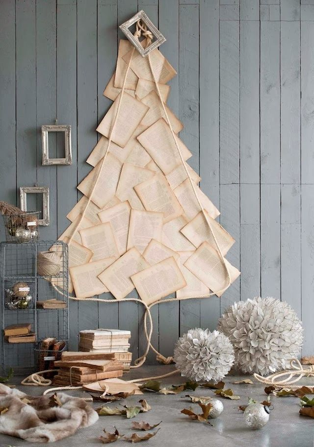 árboles de navidad originales llenos de buenas ideas