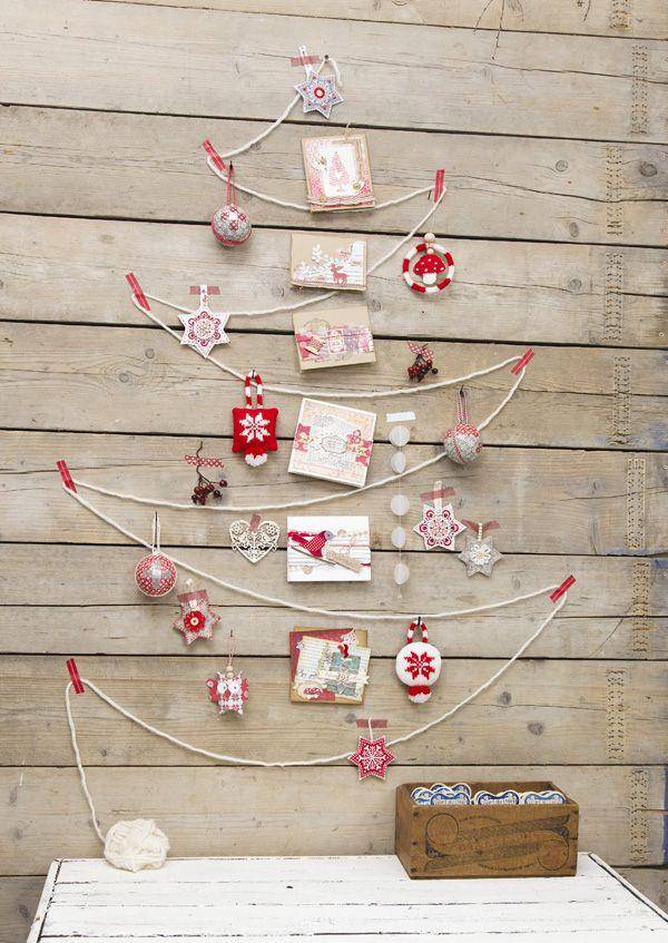 árboles de navidad muy originales para el comercio
