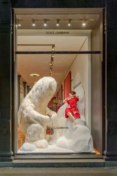 escaparates de navidad con ideas originales