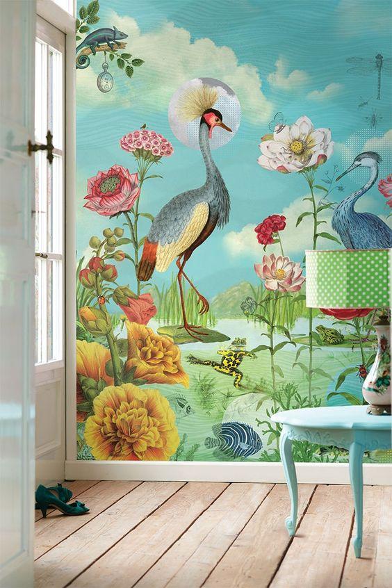 Tendencia en decoración de interiores con colores nuevos