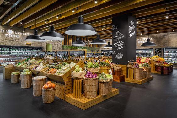 Alimentos ecológicos para competir con los mercados de calle tradicionales