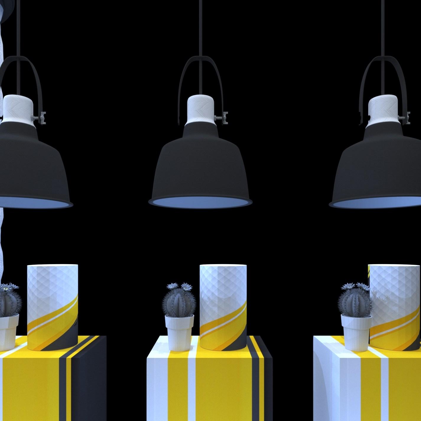 diseño de farmacias en 3d