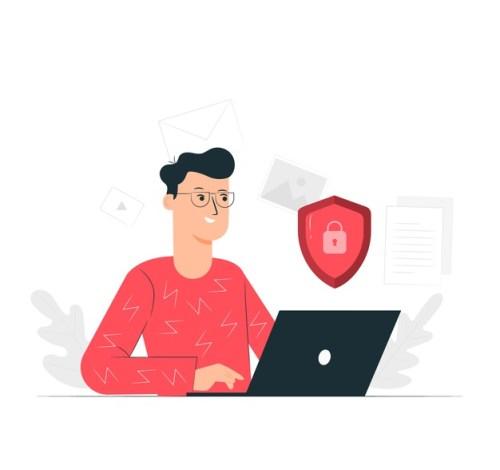 lgpd segurança e-mails