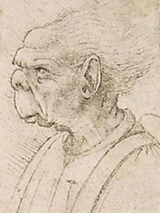 Grotesque Head II Da Vinci