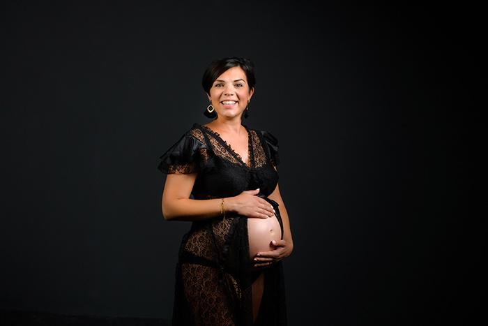 Photographie femme enceinte Studio Faucher Janzé