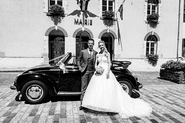 mariage devant mairie