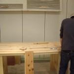 Bull's coffee焙煎室 DIYでテーブルを