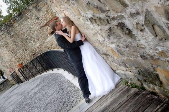 Sesja ślubna na zamku w Bardejovie