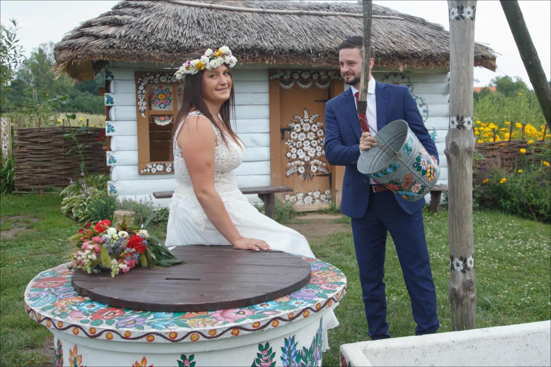 Pener ślubny Anny i Sebastiana