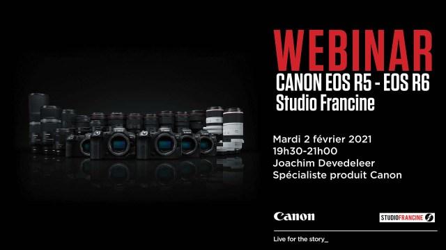 Webinar Canon EOS R5/R6