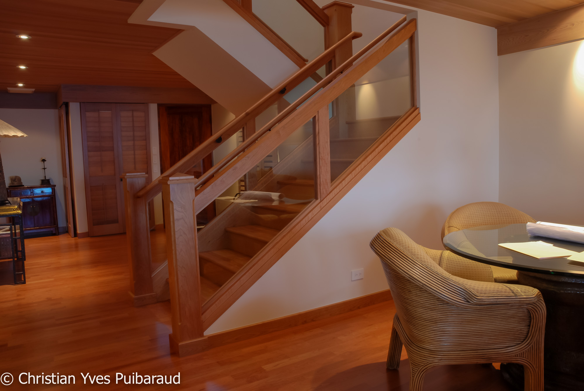 Cherry Staircase StudioFurnitureMaui