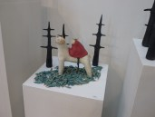 Ceramic work by Jeannie Pappas (Toronto)