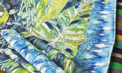 Fabrics Image courtesy of The Designers Guild