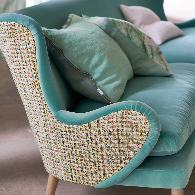 Upholstery image courtesy of The Designers Guild
