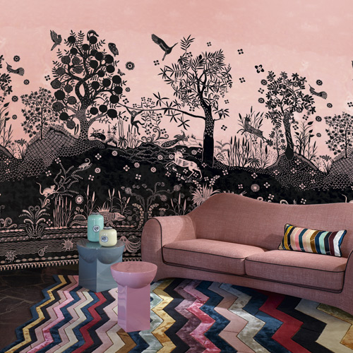 Wallpaper image courtesy of Christian Lacroix, The Designers Guild
