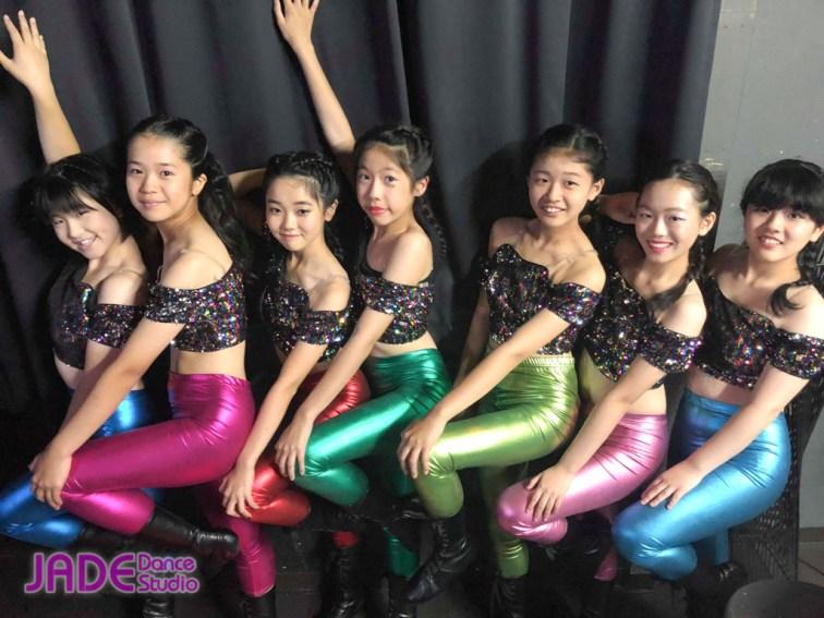 「函館港まつり感謝祭・ワンコインガールズイベント」JADE Dance Studio・ジュニアジャズ