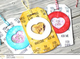 Sweet Heart Candy Shaker Tags with Svetlana