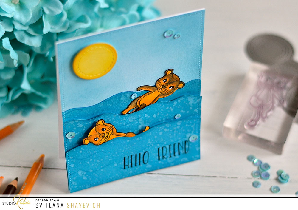 Studio Katia Birthday Lions. Card by @s_shayevich