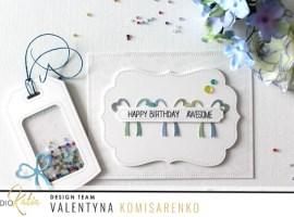 Happy Birthday Awesome with Valentyna