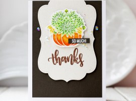Thank You / Fall Cards | Theme Week – Day 6 with Olga