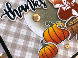 Thank You / Fall Cards | Theme Week – Day 5 with Amanda