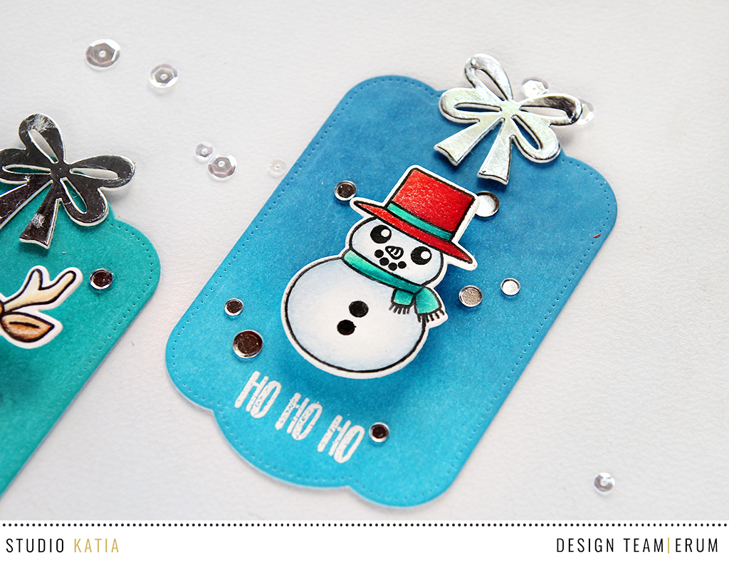 Studio Katia Friends of Winter | Distress Ink Background | Erum Tasneem | @pr0digy0