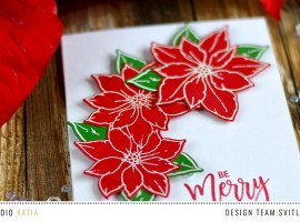 Theme Week | Last Minute Christmas Cards: Day 1 with Svitlana