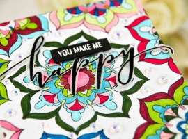 Guest Designer | You Make Me Happy & Together We Bloom with Crystal