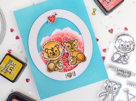 Theme Week | Hearts/Valentines – Day 6. Valentine's day card with Galina