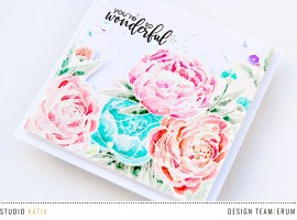 Blooming Bunch Note Card with Erum