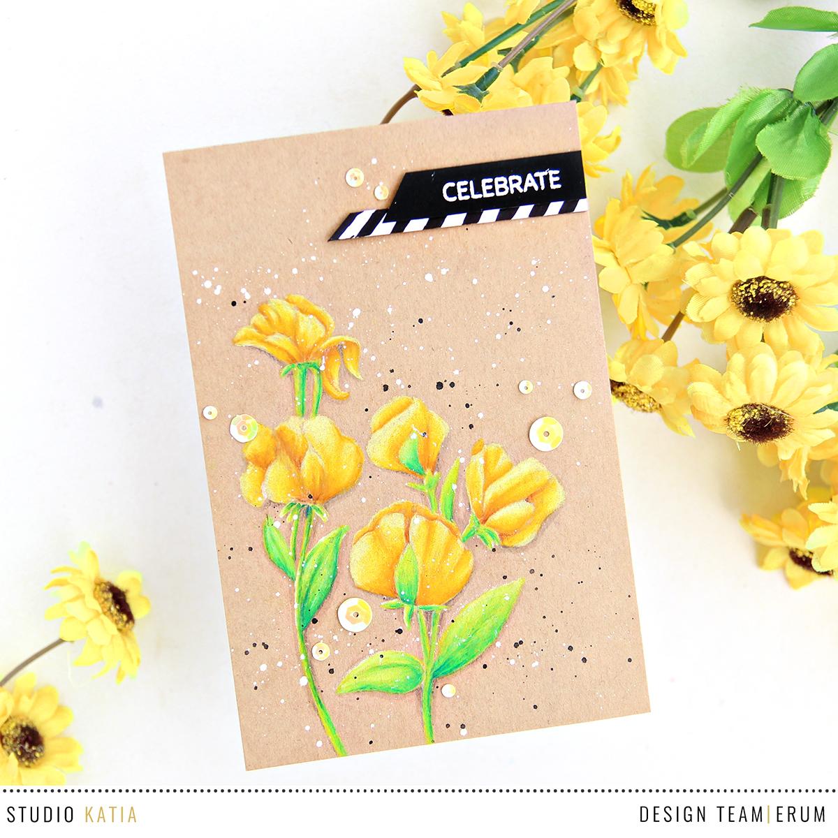Studio Katia You're So Sweet Stamp Set | Erum Tasneem | @pr0digy0