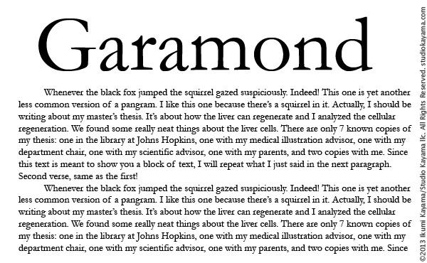 Best dissertation font