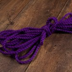 Purple Ogawa 6mm Jute rope