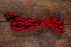 Red Ogawa 6mm Jute rope